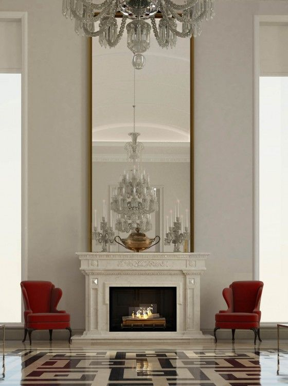 Story Foyer Mirror : Best images about decor ideas high wall spaces on