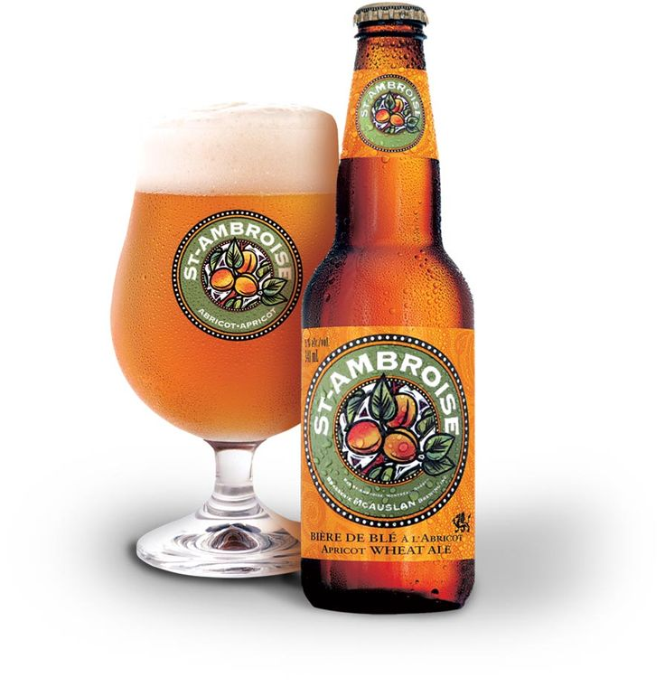 APRICOT WHEAT ALE Natural apricot flavour is married to barley and wheat malts to give St-Ambroise Apricot Wheat Ale its uniquely delicious, subtly sweet taste. A natural, delightfully refreshing choice for adventurous palates that appreciate a light ale with a playful twist.  Type Apricot Wheat Ale Hops Willamette, Golding IBU 15 Original density (Plato) 15.5 Serve 5 °C — 12 °C