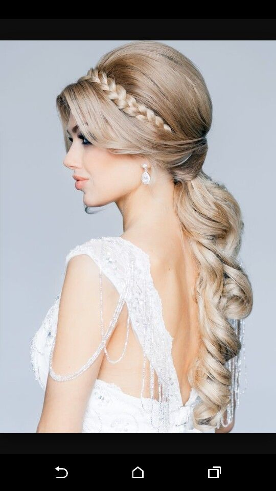 This is gogeous for bridal hair