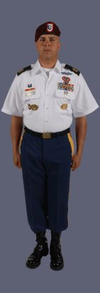 Class B Male Noncommissioned Officer Uniform