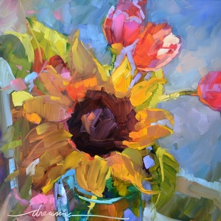 """""""All Aglow"""" DREAMA TOLLE PERRY"""
