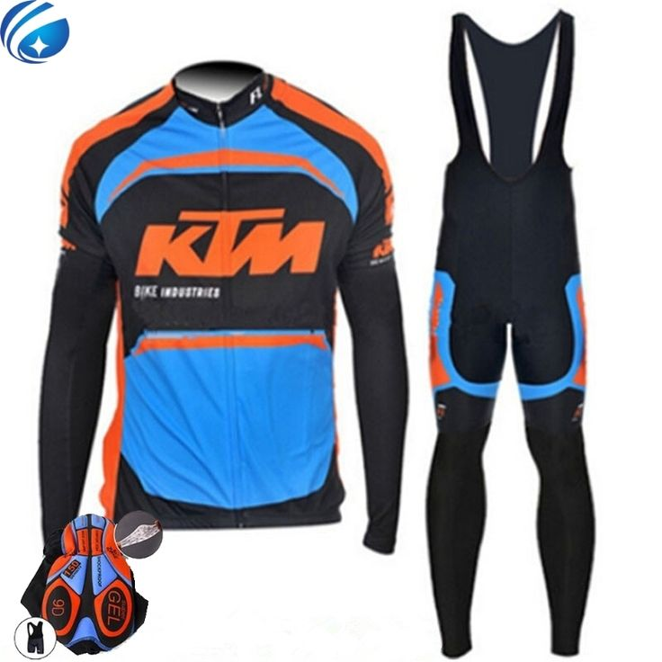 32.54$  Buy here - http://alimtl.shopchina.info/go.php?t=32799467881 - Pro team Ktm Cycling Jerseys Ropa Ciclismo maillot/Long Sleeve Bicycle clothing mens Bicycle clothing bike clothes 32.54$ #magazine