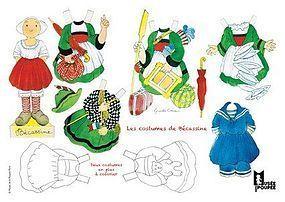 Becassine paper doll http://www.dollshopsunited.com/stores/museedelapoupeeparis/catalog/ #dollshopsunited