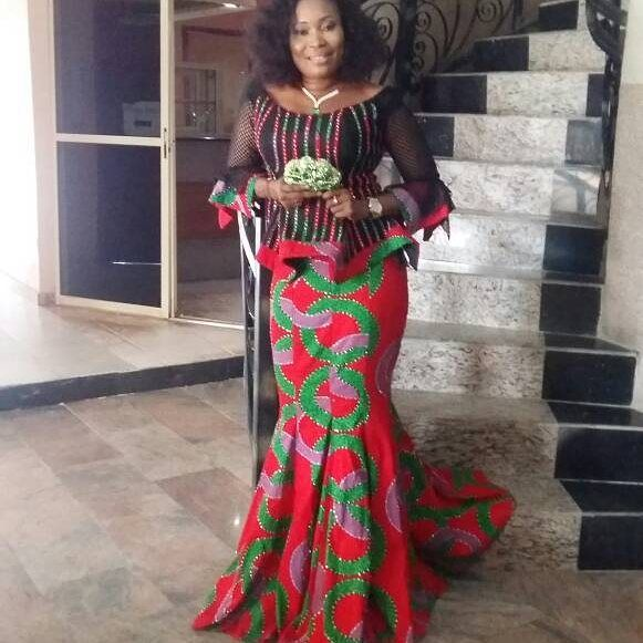 Lovely Skirt and Blouse Ankara Styles You Should Rock This Month of 2018...Lovely Skirt and Blouse Ankara Styles You Should Rock This Month of 2018