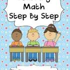 This is a sample of my Learning Math Step by Step book which provides children with lots of fun activities while teaching them mathematical concept...