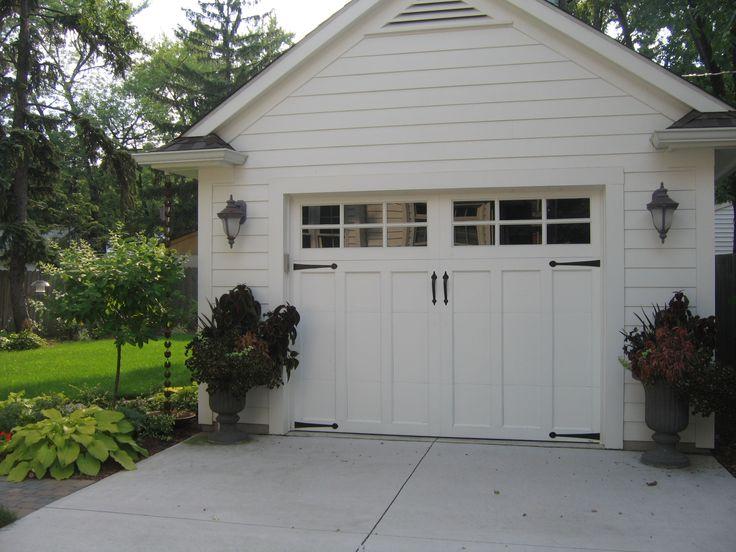 Unique Garage Door Entry to House
