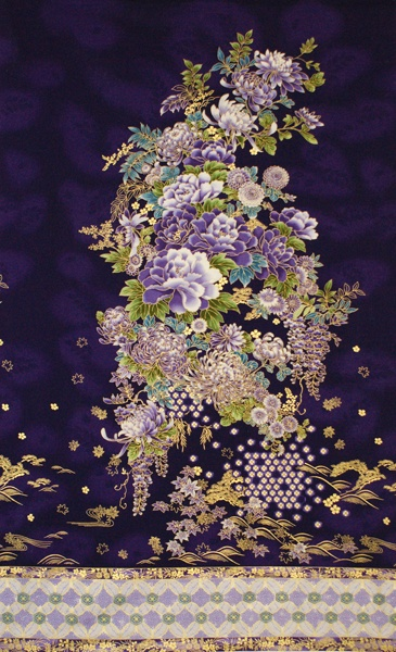 Imperial Purple Panel $12/yd
