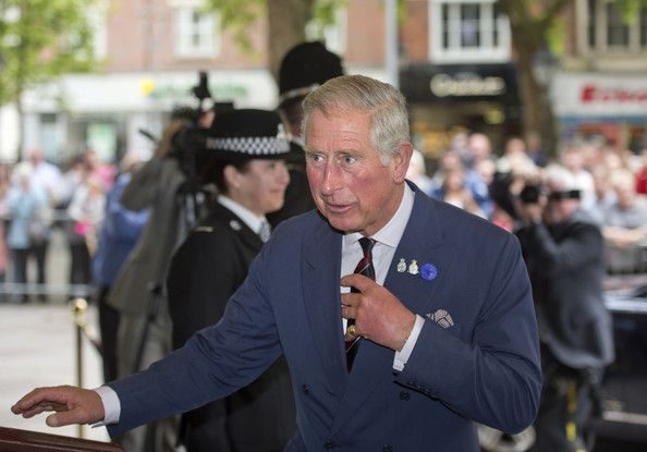 Prince Charles attends the 10th Annual Police Memorial Day Service in Cardiff, Wales 29 Sept 2013