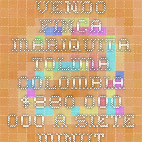 VENDO FINCA MARIQUITA TOLIMA COLOMBIA $880.000.000 A SIETE MINUTOS DE MARIQUITA Y SEISCIENTOS METROS DE LA CARRETERA MARIQUITA ARMERO. ÁREA DE TERRENO SEIS HECTÁREAS, DOS CONSTRUCCIONES. CASA PRINCIPAL 170M2 TOTALMENTE AMOBLADA - FILTROS DE AGUA - CASA DE 70M2 - QUIOSCO CON BBQ FRENTE A LA PISCINA - LA PISCINA TIENE PLANTA DE TRATAMIENTO - TANQUE PARA ALMACENAMIENTO DE AGUA - ACUEDUCTO PROPIO - LAGO PARA CULTIVO DE PESCADO - MATAS DE CACAO - ÁRBOLES FRUTALES. Características principales…
