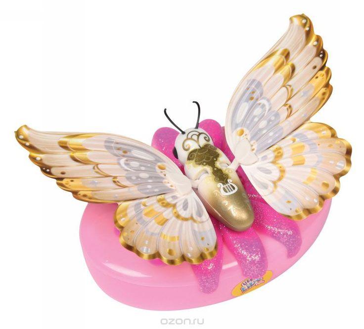 Moose Интерактивная игрушка Little live Pets: Бабочка Жемчужинка