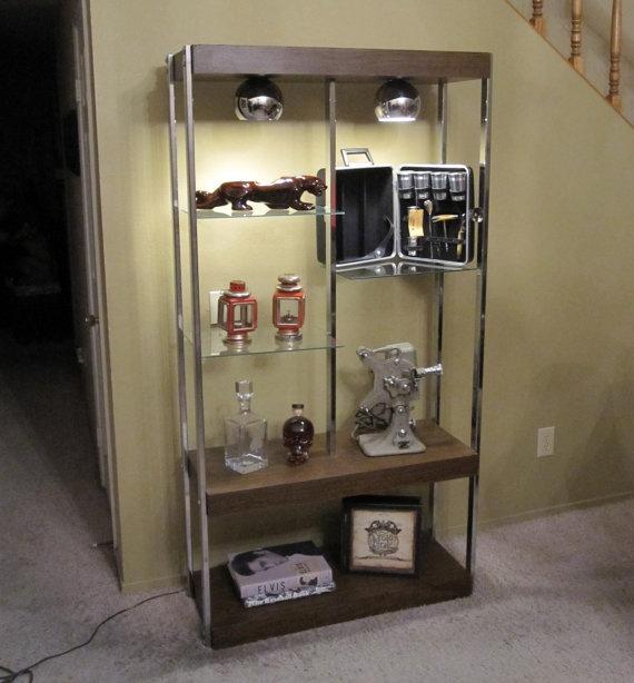 Vintage Eames Era Display Shelving Unit / Retro 1970s by MidMod, $299.00