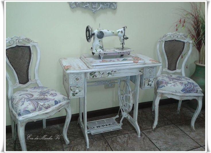 1000 idee su vecchie macchine da cucire su pinterest - Tavolo macchina da cucire ...