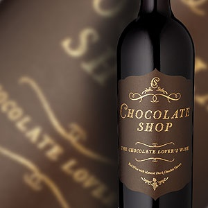 "Chocolate Shop, the ultimate ""Chocolate Lover's Wine"" is a deep, ruby red wine blended with rich, velvety chocolate."
