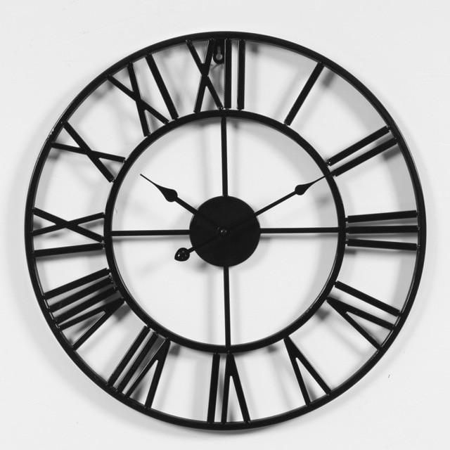 Pallas Vintage Wall Clock In 2020 3d Wall Clock Large Clock Clock