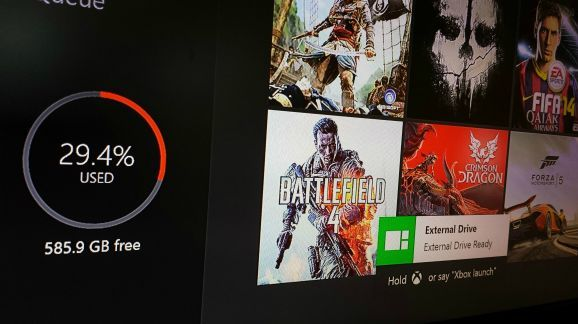 Xbox One to get external hard drive support 'soon', possibly in next update