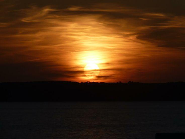 Una puesta de sol en el momento idea y con la persona ideal