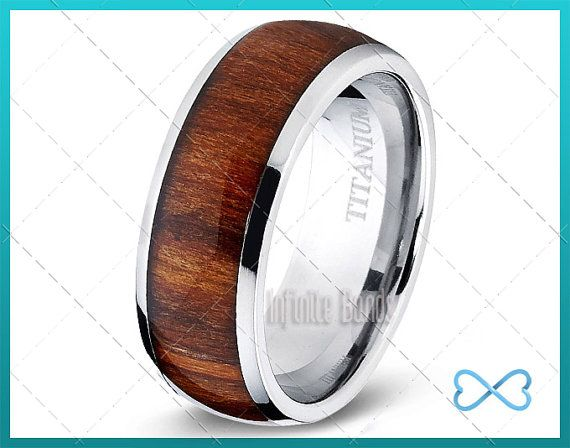 Titanio Wedding Band Mens Wedding Band Band di di InfiniteBands