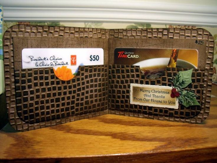 Men's Gift Card Wallet by mitchygitchygoomy - Cards and Paper Crafts at Splitcoaststampers