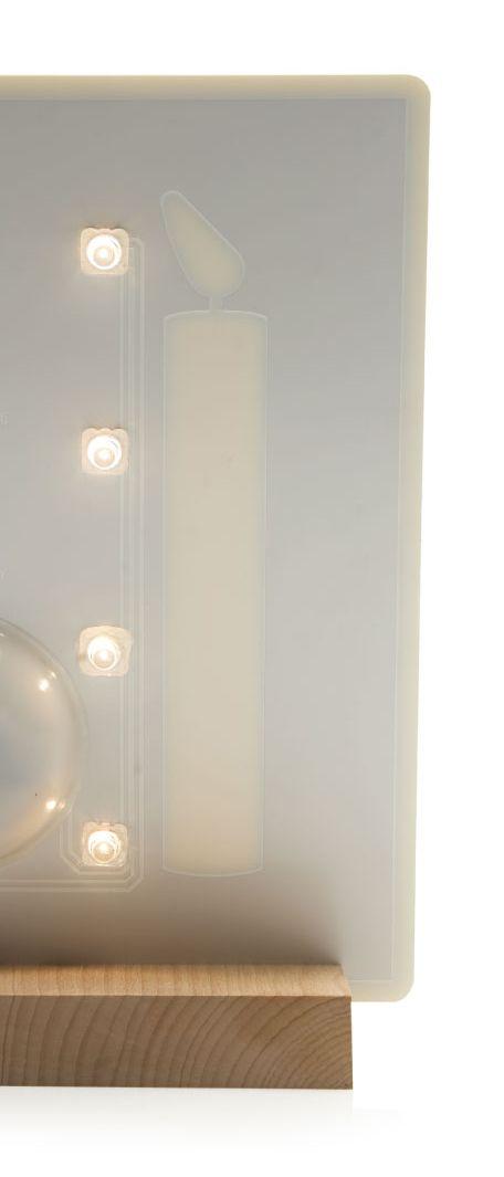 Candled lampada a LED