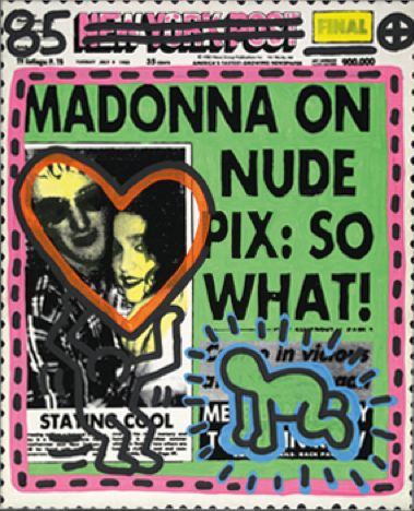 Madonna is like the honey badger: she doesn't care.