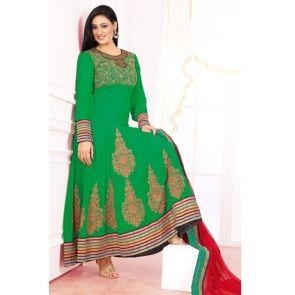 Shweta Tiwari Suits - Green Salwar kameez