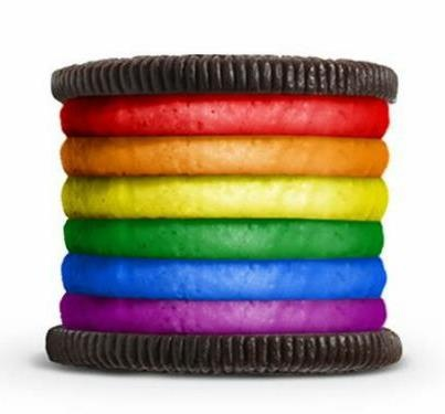 Rainbow Oreo - I had to research becuase I had missed the