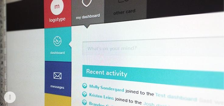 flat UI design www.netkata.com