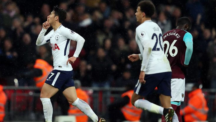 Spectacular strikes light up Tottenham draw with West Ham #News #Football #PedroObiang #PremierLeague #Soccer