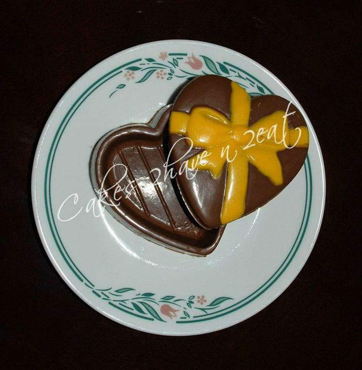 HEART SHAPED CHOCOLATE GIFT BOX! YUMMY!