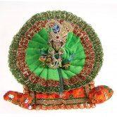 shree-krishna-bal-gopal-laddu-gopal-thakurji-with-poshak-jewelry-and-cushion-set-from-muhenera-sa1