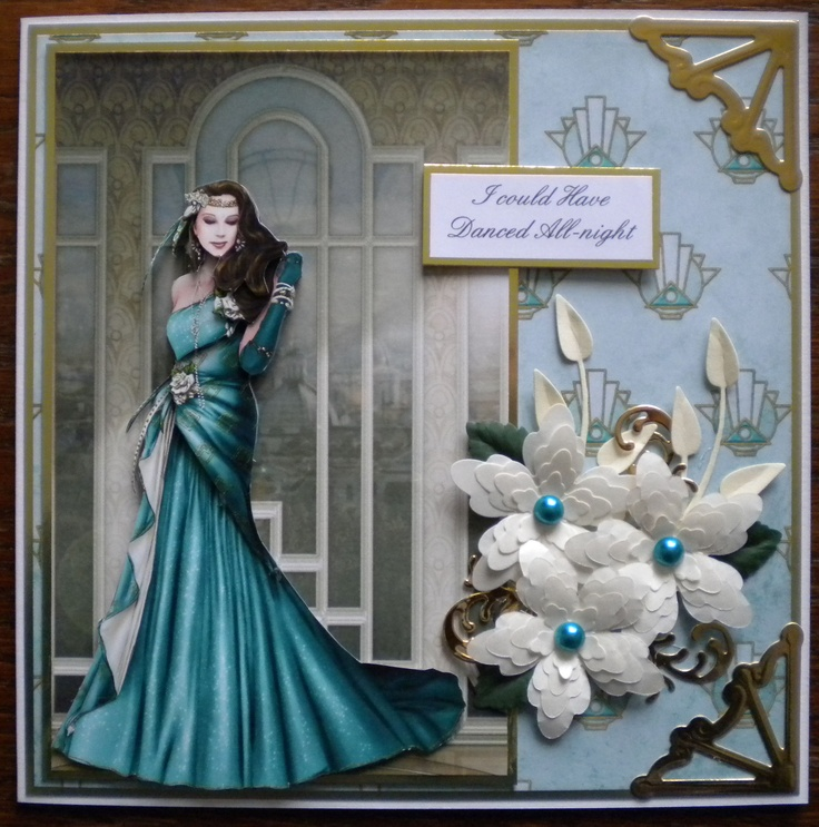 Made using Debbi Moores Art Deco Roame CD