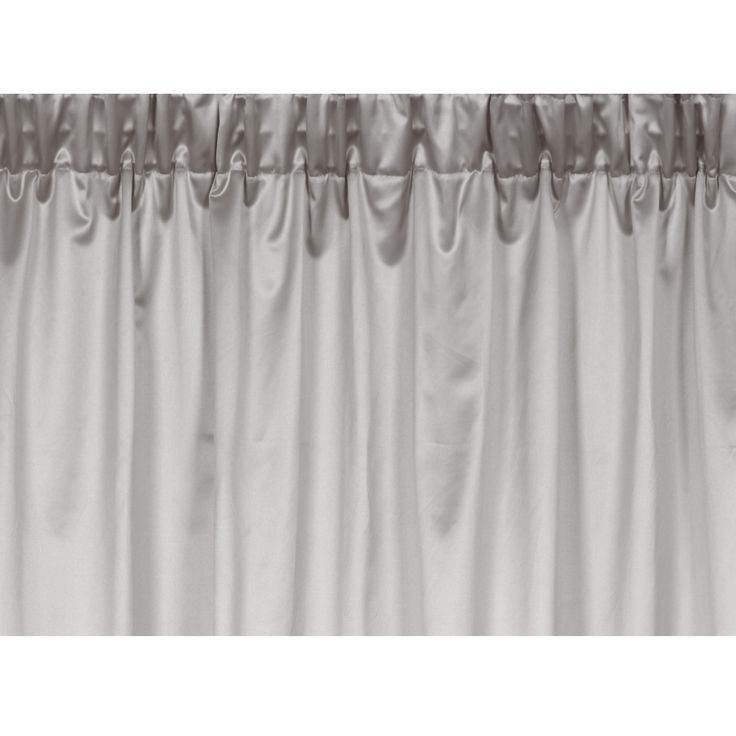 Paramount Cotton Mix Ready-Made Curtains With a beautifully silky satin finish in a soft shade of marble grey,
