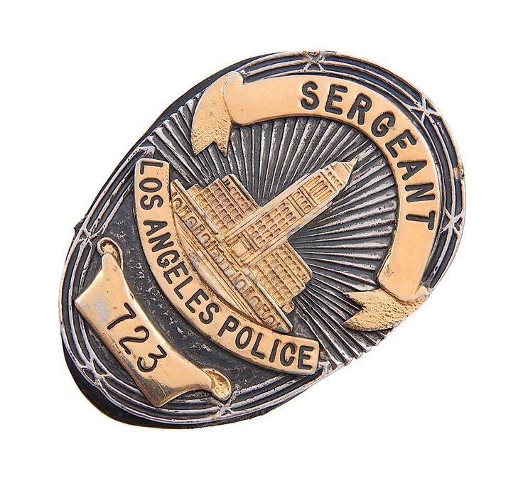 Last Action Hero / Jack Slater's Police Badge (Arnold Schwarzenegger)