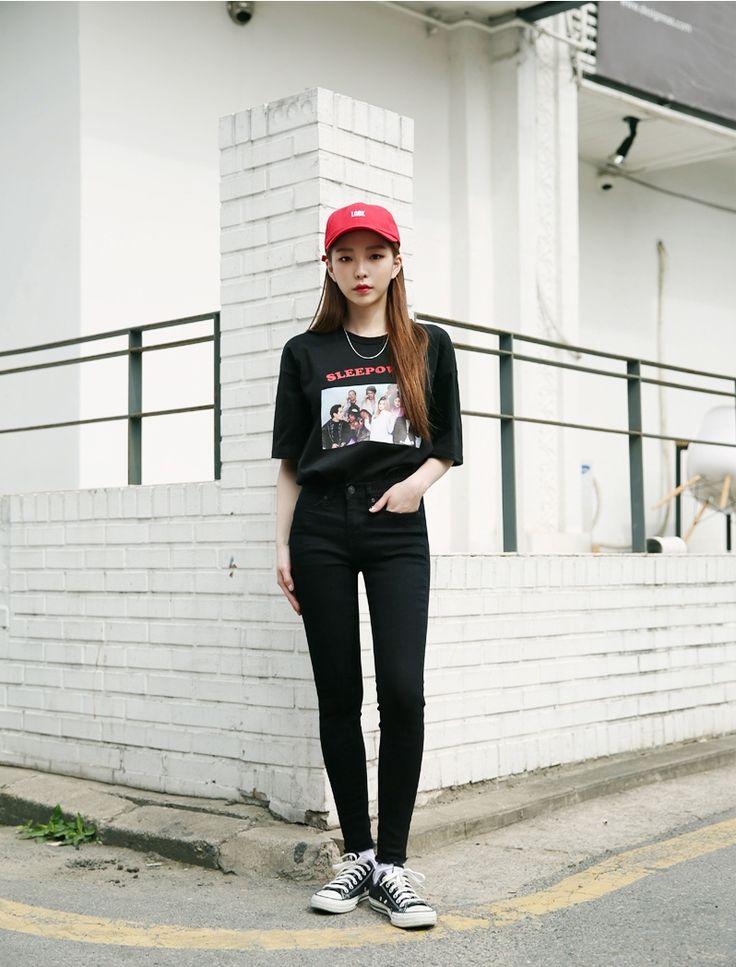 #korean, #fashion, #ootd