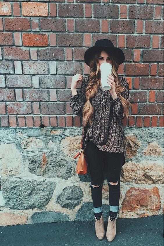 Seaofgirasoles: Fashion: Modern boho girls