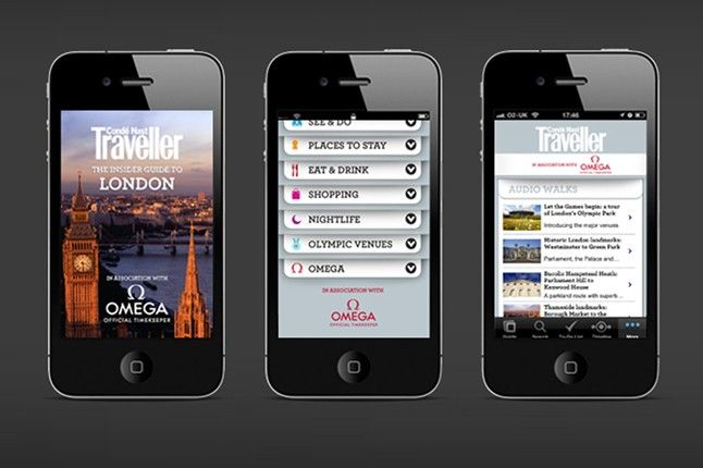 London City Guide iPhone App: FREE & updated for the Olympics 2012 (Condé Nast Traveller)