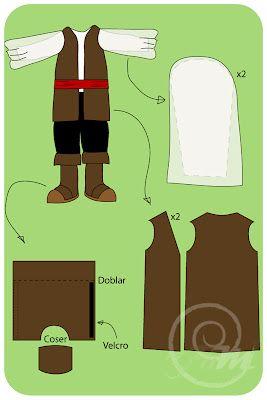 Disfraz de Pirata: Tutorials Express, Pirata Niño, Al Miayo, Disfraz De Pirata, Disfrac Costume, Disfraz Pirata, Tutorial Express, Disfraz Niño, Disfrac Casero
