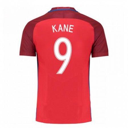 England 2016 Harry Kane 9 Borte Drakt Kortermet.  http://www.fotballteam.com/england-2016-harry-kane-9-borte-drakt-kortermet.  #fotballdrakter