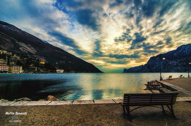 #garda #lake #sunset