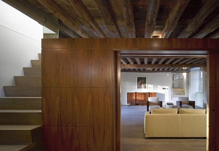 Oltre 25 fantastiche idee su soffitto con travi in legno for Piani di casa su moli e travi