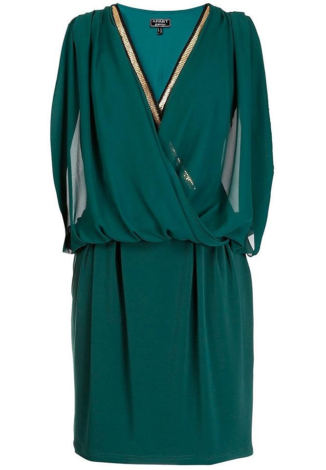 APART Kleid in smaragd