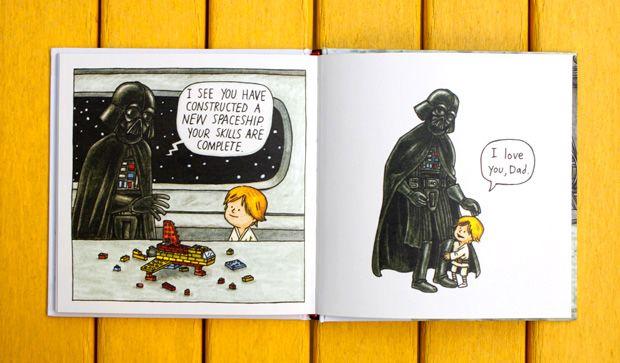 If Darth Vader Actually Raised Luke Skywalker