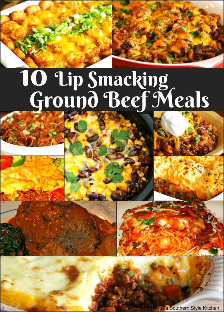 Quick and easy meal solutions are the challenge of every cook. So, I dug through the recipe index here on MSSK and pulled these 10 Lip Smacking Ground Beef Meals to share with you. This collection features a variety of mouthwatering casseroles, one cooked on the stove top, others that are oven-baked and a slow cooked cowboy casserole for those crazy days packed with activities.