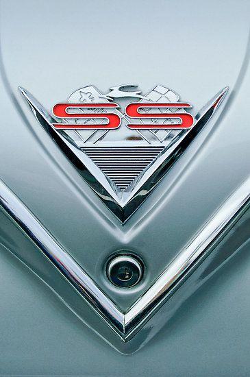 1961 Chevrolet SS Impala Emblem by Jill Reger