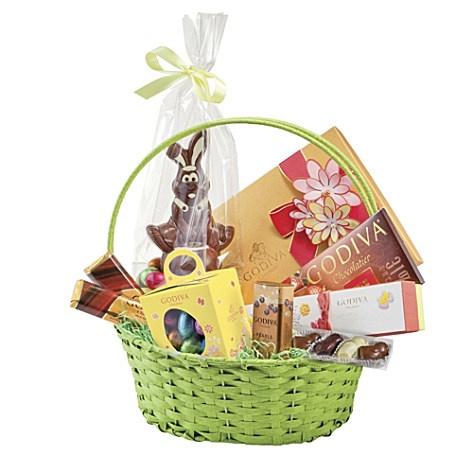 22 best hampers images on pinterest hamper ideas baby hamper large easter hamper basket by godiva negle Choice Image