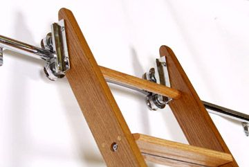 find parts on this site to build your own library ladder