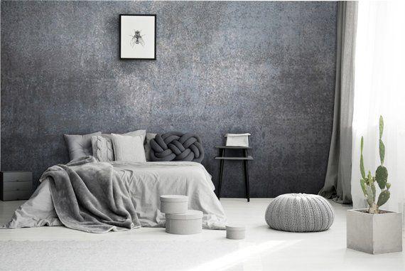 Iron Grey Wallpaper Grey Margle Silver Metal Background Etsy Grey Wallpaper Grey Textured Wallpaper Grey Wallpaper Living Room