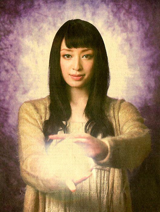 Chiaki Kuriyama / Actress.  yomiuri newspaper.