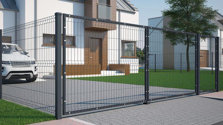 ogrodzenie panelowe ażurowe z siatki