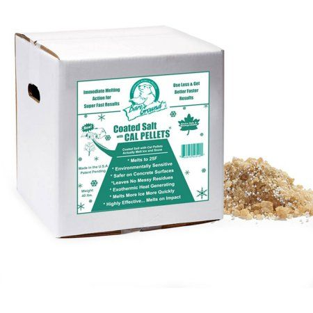 Bare Ground Coated Granular Blend With Calcium Chloride Pellets